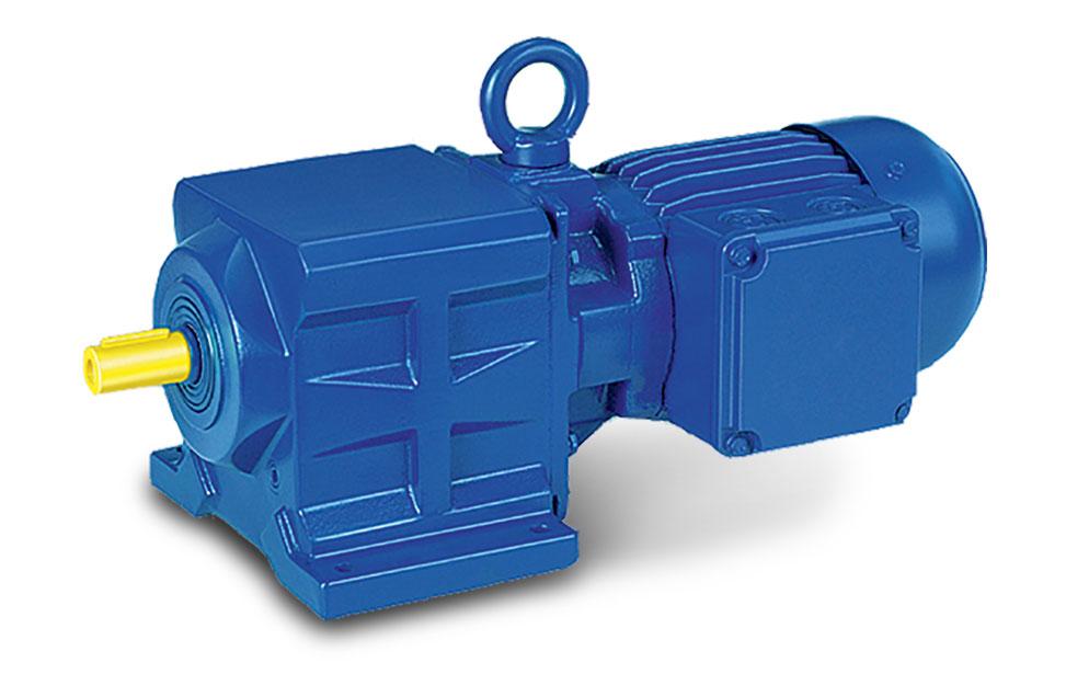 Bg Series Helical Geared Motor Drivetech Gr